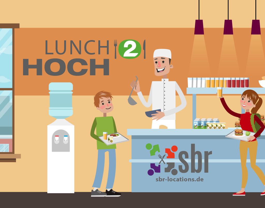 Lunch Hoch2 das ist gesunde Schul- und Mensaverpflegung